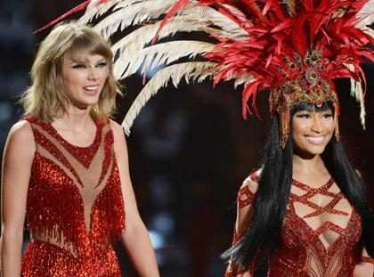 Y es así como Nicki Minaj se encarga de humillar a Taylor Swift públicamente (+ Foto)