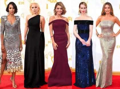 Mejores y peores vestidas de la #AlfombraRojaE! de los Emmy Awards 2015