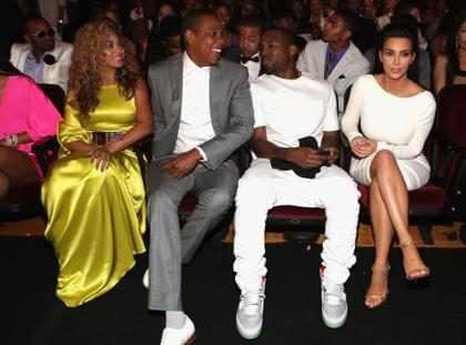 Kim Kardashian e Beyoncé ficam frente a frente após briga de Kanye West e Jay-Z