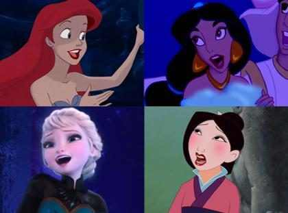 Ilustrador veste princesas da Disney com looks das famosas no MET Gala 2017