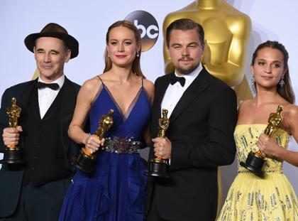Él fue el gran, gran, gran perdedor de los Oscars 2016