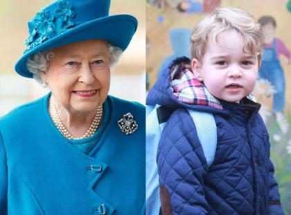Príncipe George chama a Rainha Elizabeth II com apelido fofo