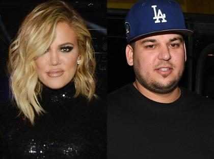 Así es cómo Khloé Kardashian y Tristan Thompson ayudan a Rob Kardashian en medio del drama con Blac Chyna