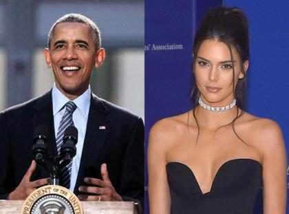 Barack Obama conoció a Kendall Jenner y se burló de la estrella de Keeping Up With the Kardashians (Fotos + Video)