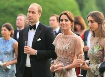 Príncipe William diz que está magro por causa de Kate Middleton