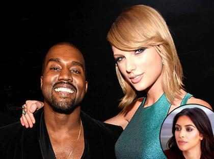 Esto es todo lo que debes saber sobre la épica batalla entre Kim Kardashian, Kanye West y Taylor Swift (+ Video)