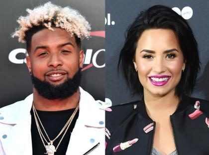 Demi Lovato e Odell Beckham Jr. são flagrados em encontro