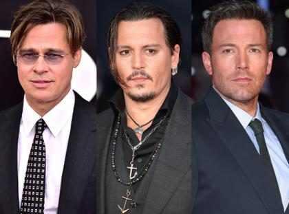 Brad Pitt, Ben Affleck y Johnny Depp: El fin de la era de los galanes de ensueño (+ Fotos)