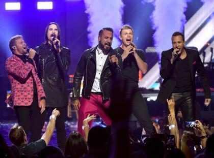 Backstreet Boys mostra prévia de shows em Las Vegas em festival