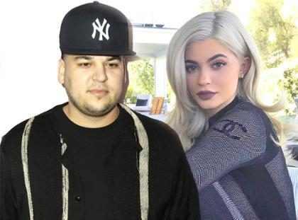 Rob Kardashian pede desculpas a Kylie Jenner após divulgação de celular