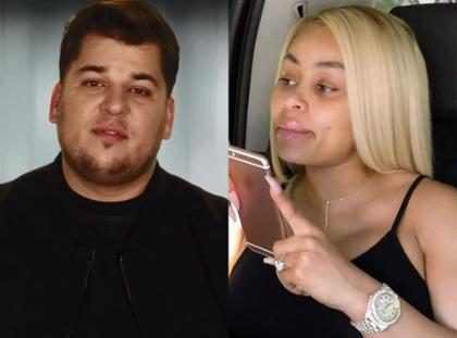 WTF! Rob Kardashian esté celoso de Blac Chyna por la peor razón posible (+ Fotos)