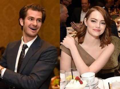 Mira el épico encuentro que tuvieron Emma Stone y Andrew Garfield