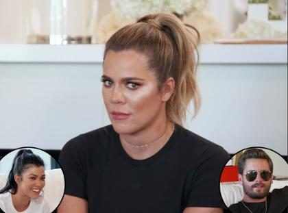 Khloé Kardashian se burla de Kourtney y Scott ¡Y tienes que verla!