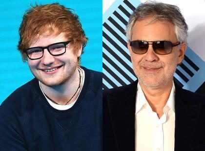 Ed Sheeran lança nova versão de Perfect com Andrea Bocelli