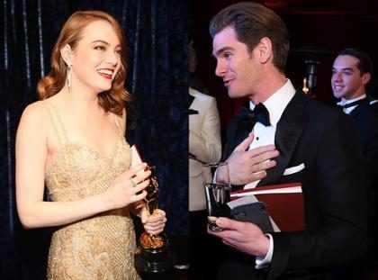 Emma Stone e Andrew Garfield estão se reaproximando, segundo jornal