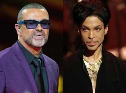 George Michael e Prince serão homenageados no Grammy 2017
