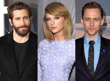 Jake Gyllenhaal y Tom Hiddleston luchan por olvidarse para siempre de Taylor Swift