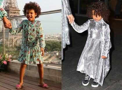 Y así, Blue Ivy y North West lograron convertirse en grandes íconos de la moda infantil (+ Fotos)