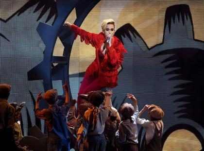 Katy Perry divulga prévia de mais uma música nas redes sociais