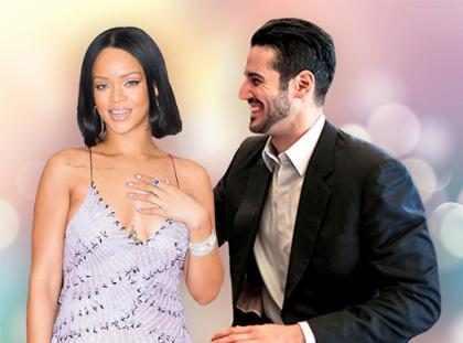 Rihanna curte jantar em Londres com suposto namorado, o bilionário Hassan Jameel