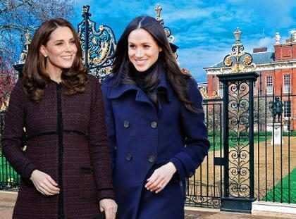 ¿Cómo es realmente la relación de Meghan Markle y Kate Middleton?