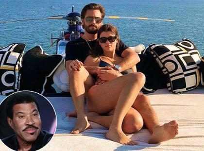 """Lionel Richie diz que namoro de Sofia Richie com Scott Disick é só uma """"fase"""""""
