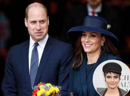 Cara Delevingne podría saber el nombre del bebé de Kate Middleton y esta es la prueba