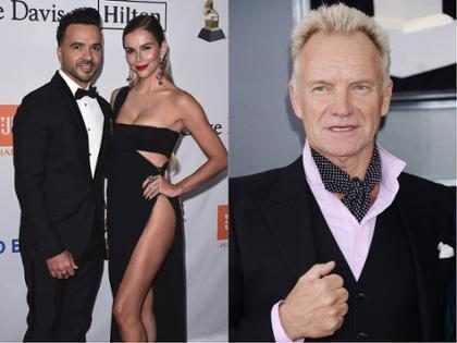 Así fue cómo Sting le coqueteó a la esposa de Luis Fonsi