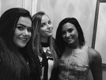Maisa Silva se encontra com Demi Lovato em vídeo