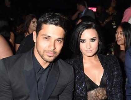 Wilmer Valderrama vai na festa de aniversário da ex Demi Lovato