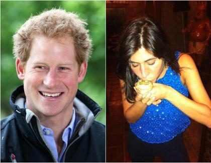Príncipe Harry estaria saindo com socialite brasileira