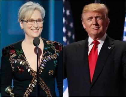 Donald Trump le respondió a Meryl Streep luego de que la actriz lo criticara durante los Golden Globes (Fotos +  Video)