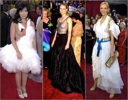 As mais mal vestidas da história do Oscar