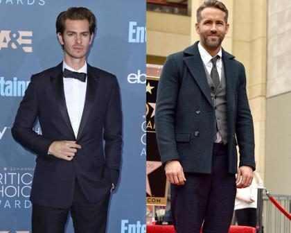 WTF! Ryan Reynolds y Andrew Garfield se besaron tras perder ante Ryan Gosling en los Golden Globes ¡Míralos! (+ GIF)