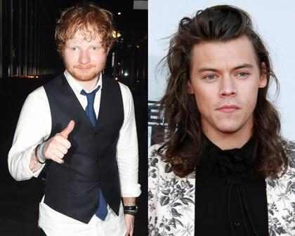 Ed Sheeran afirma que já ouviu parte do álbum de Harry Styles