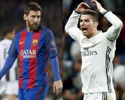 Mira el apasionado beso de Messi y Cristiano Ronaldo que está causando polémica (+ Foto)