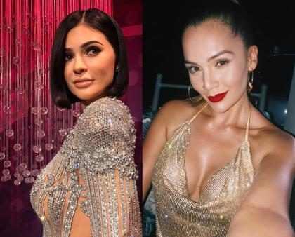 """La actriz colombiana que le agarró el trasero a """"Kylie Jenner"""""""