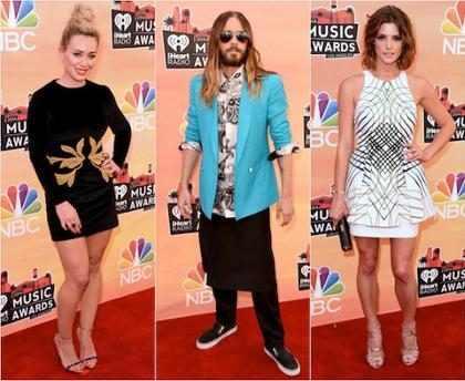Os melhores e os piores looks do iHeartRadio Music Awards