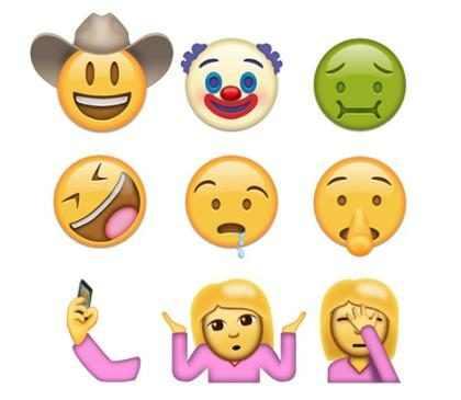 As assustadoras máscaras faciais de emoji