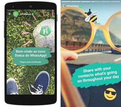 WhatsApp lança recurso para postar imagens que desaparecem em 24h