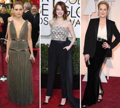 ¿Cómo se vestirán Natalie Portman, Emma Stone, Nicole Kidman, Meryl Streep y Michelle Williams en los Oscars?