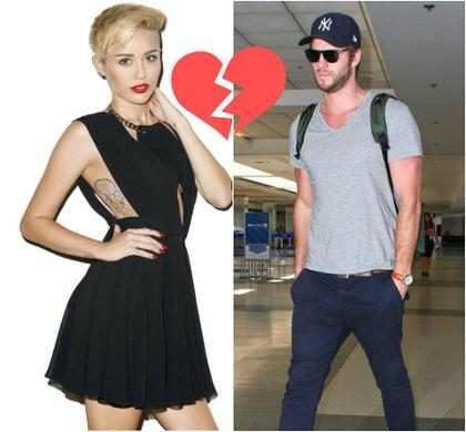 Liam Hemsworth e Miley Cyrus: motivo de ator já estar com outra