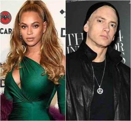 Eminem e Beyoncé lançam a parceria musical Walk On Water