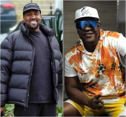 Kanye West vai gravar música com vocalista da banda Psirico