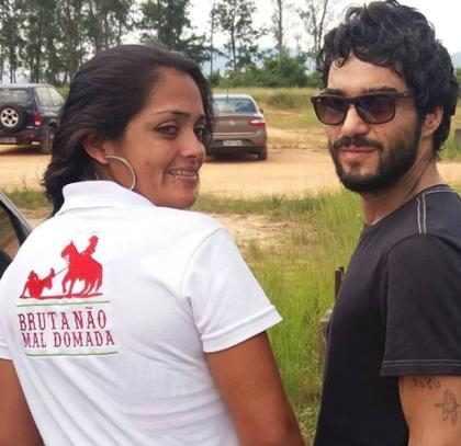 """Maria Casadevall reage à post de Caio Blat: """"Machistas não passarão"""""""