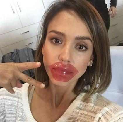 Máscara para lábios é a nova febre entre as famosas