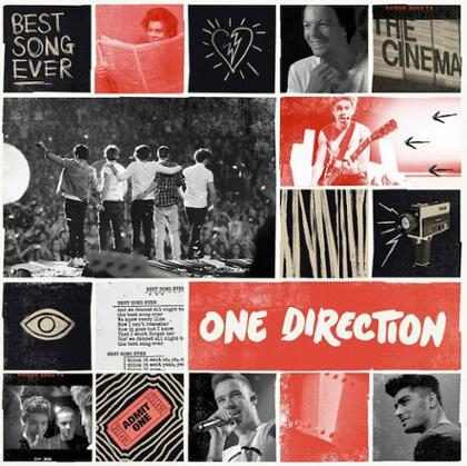 One Direction divulga capa de novo single, Best Song Ever