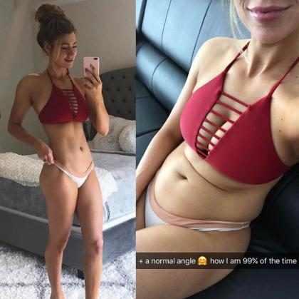 Musa fitness do Instagram mostra a realidade por trás das fotos de seu corpo