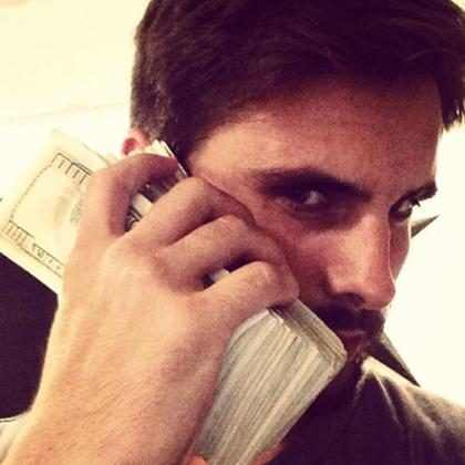 (+ Fotos) Scott Disick presume de su fortuna en Instagram…