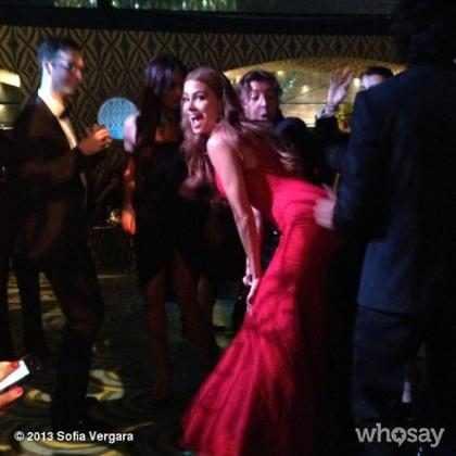 Sofia Vergara provoca Miley Cyrus durante festa do Emmy?